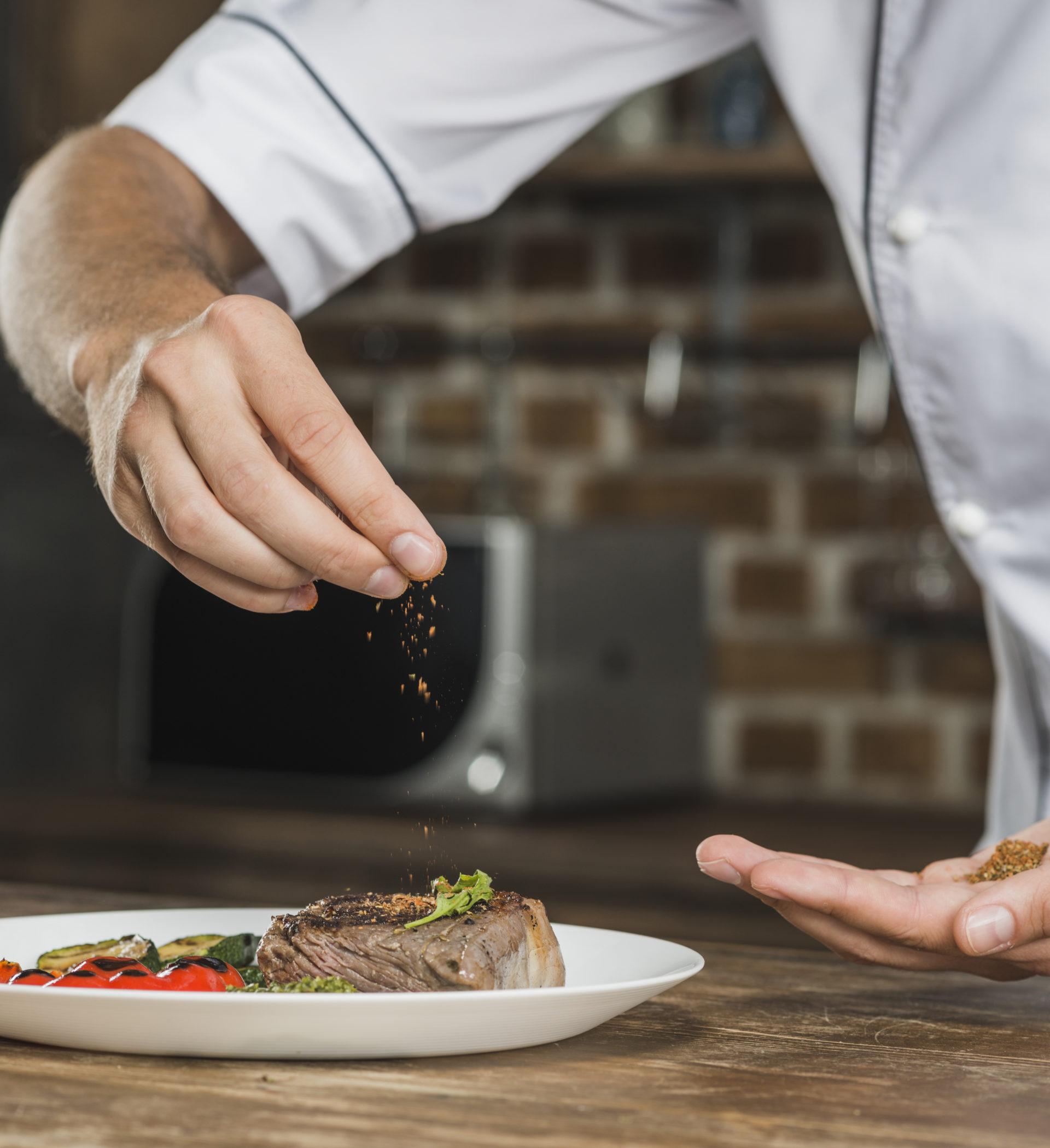 photographie culinaire à Lyon chef