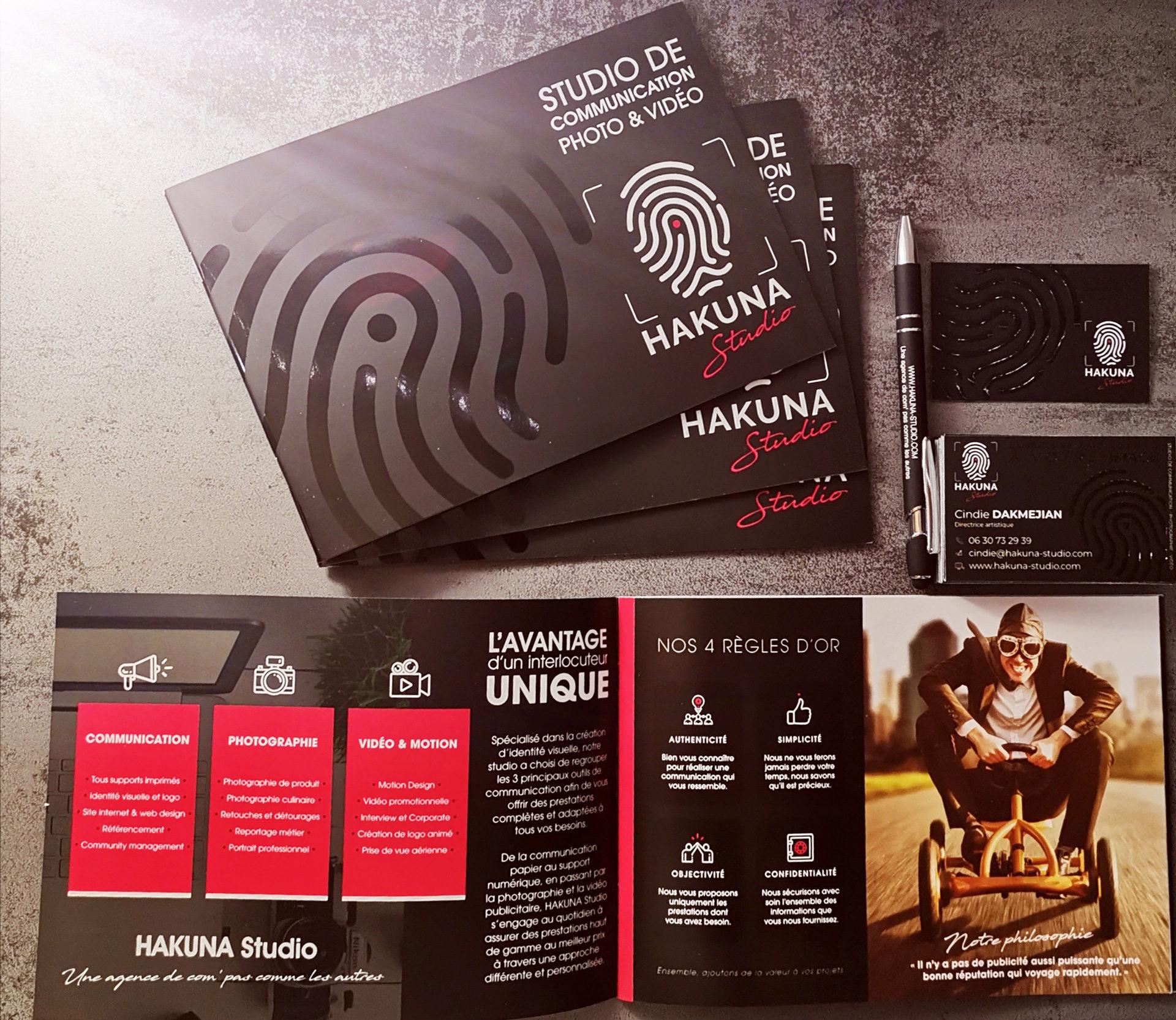 Catalogues HAKUNA Studio Lyon