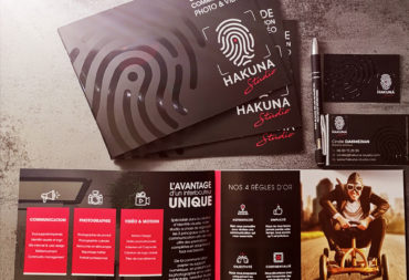 Catalogues HAKUNA Studio agence de communication à Brignais