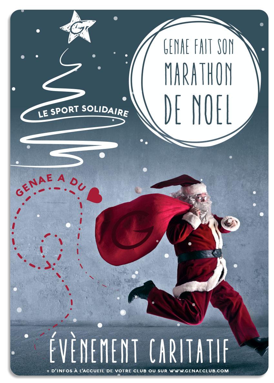 marathon Noël genae
