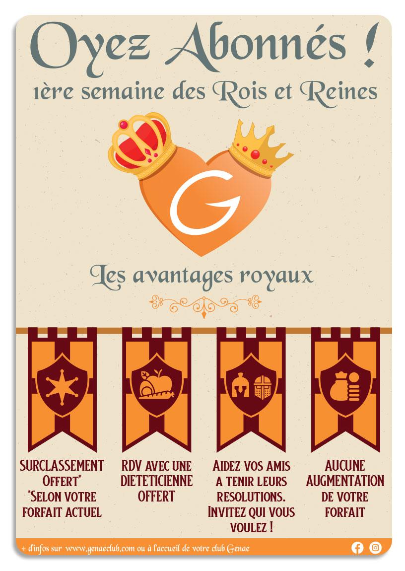Rois et reines Genae