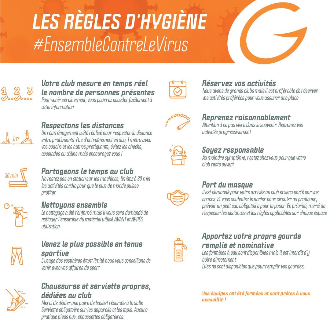 les regles d'hygiene